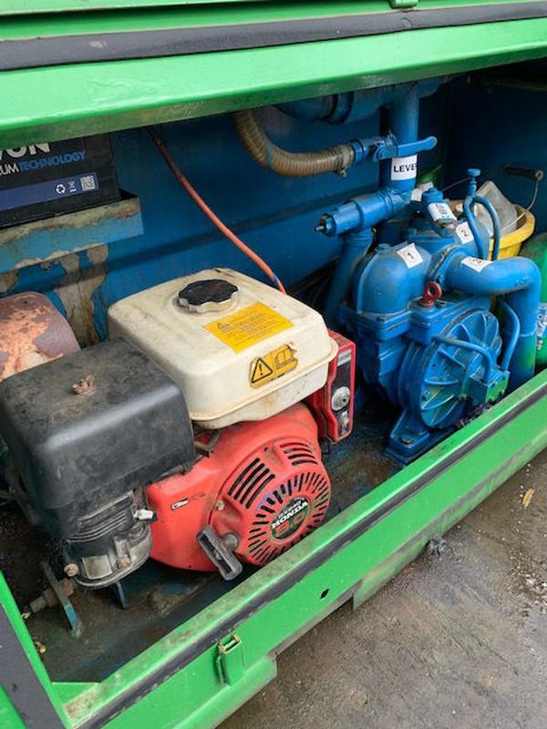 Honda engine and pump