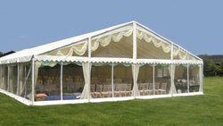 12m x 9m Roder HTS Höcker Clearspan Marquee