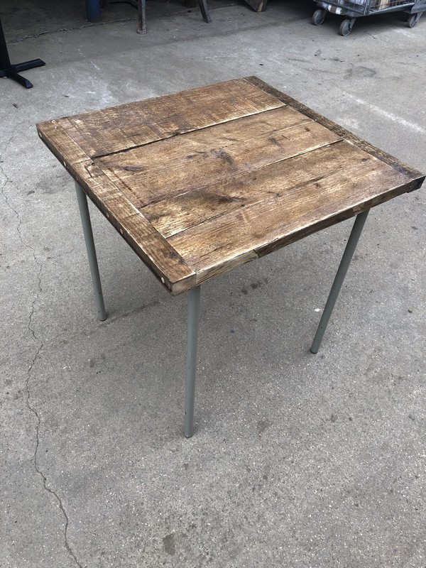 Solid Wood Plank Table