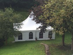 Pagoda marquee for sale
