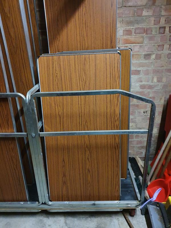 Folding Tables Job Lot for sale Peterborough