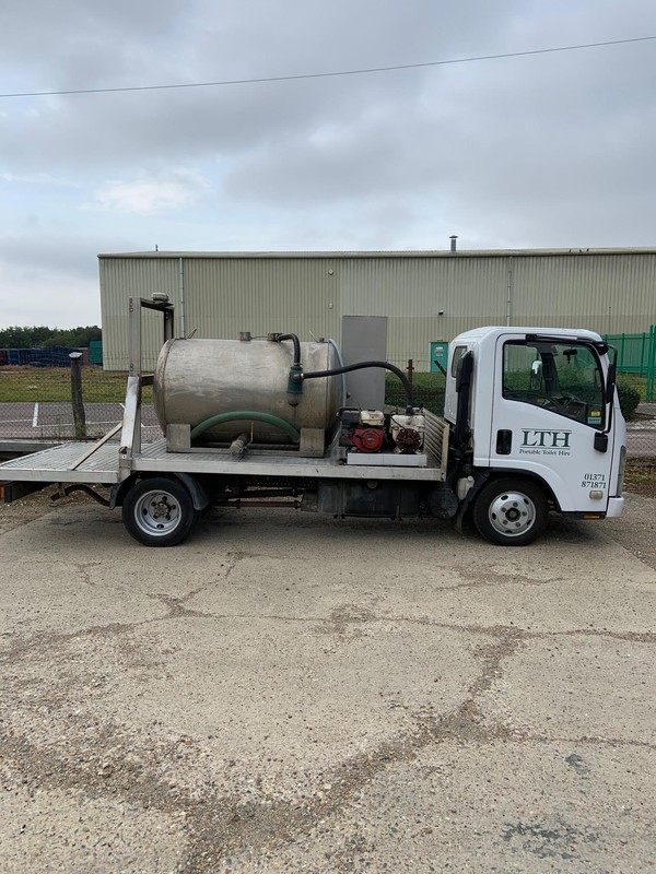 3.5 Tonne Vacuum Tanker