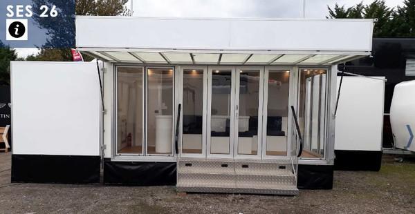 exhibition trailer for sale near me