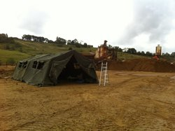 Army Frame Tent 16' x 24'