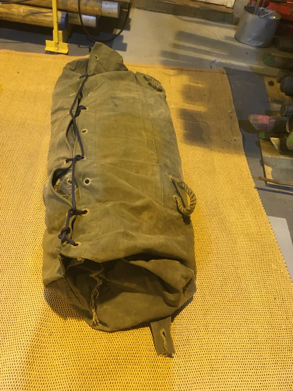 Olive Drab Army Frame Tent
