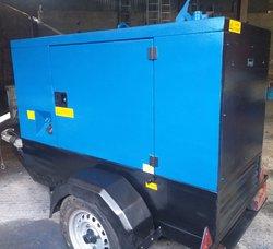 26 kVA 3ph 21kVA 1ph Stephill Generator Rental Spec