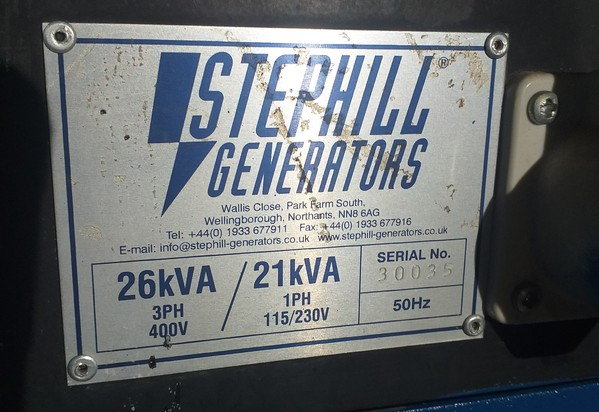 buy Stephill Generator
