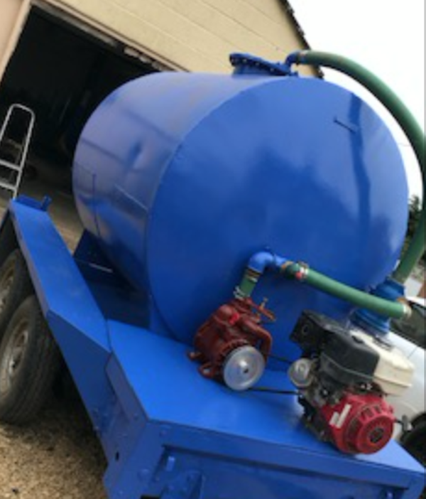 Secondhand vacuum tanker
