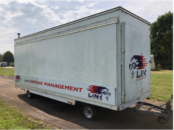 secondhand exhibition trailers