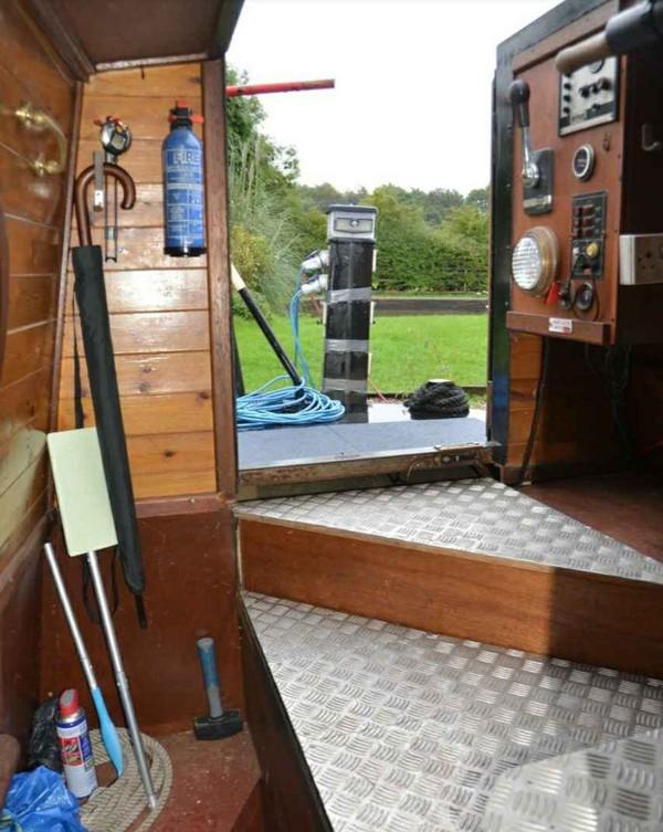 Liverpool narrowboat 1991