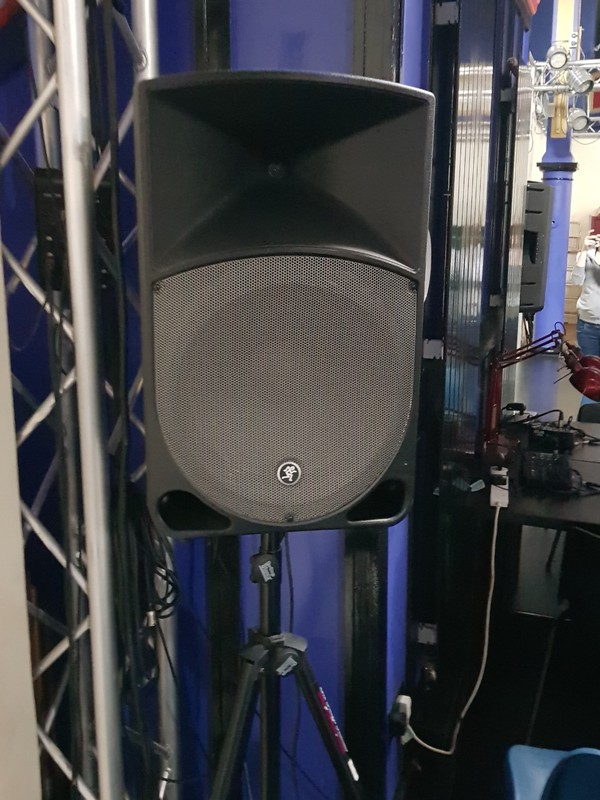 Mackie Thump DJ speakers