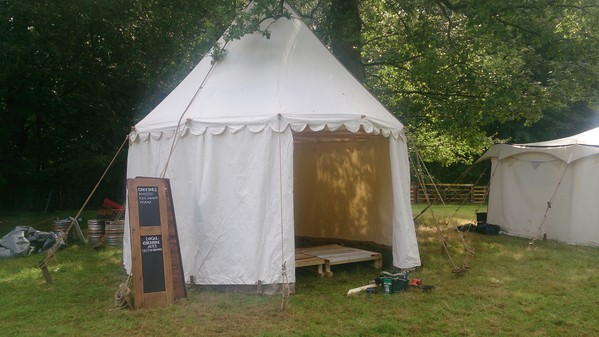 Medieval Pavilion marquee for sale