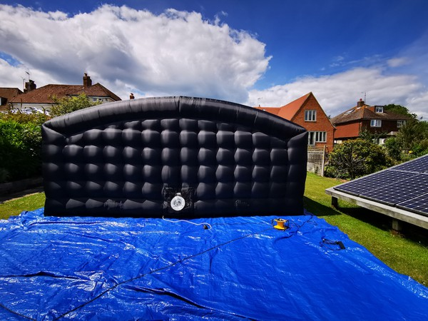 Cinema Inflatable blackout structure