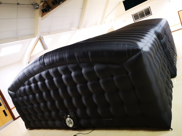 Used Inflatable blackout structure (6x5.2x2.8m)