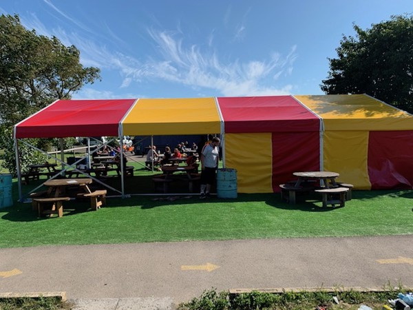 Buy Clear Span Framed Marquees