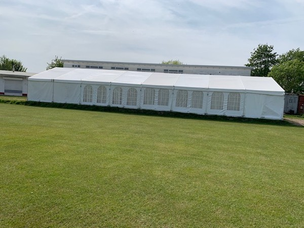 Rugged Well Proven Clear Span Framed Marquees for sale
