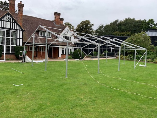 Selling Clear Span Framed Marquees