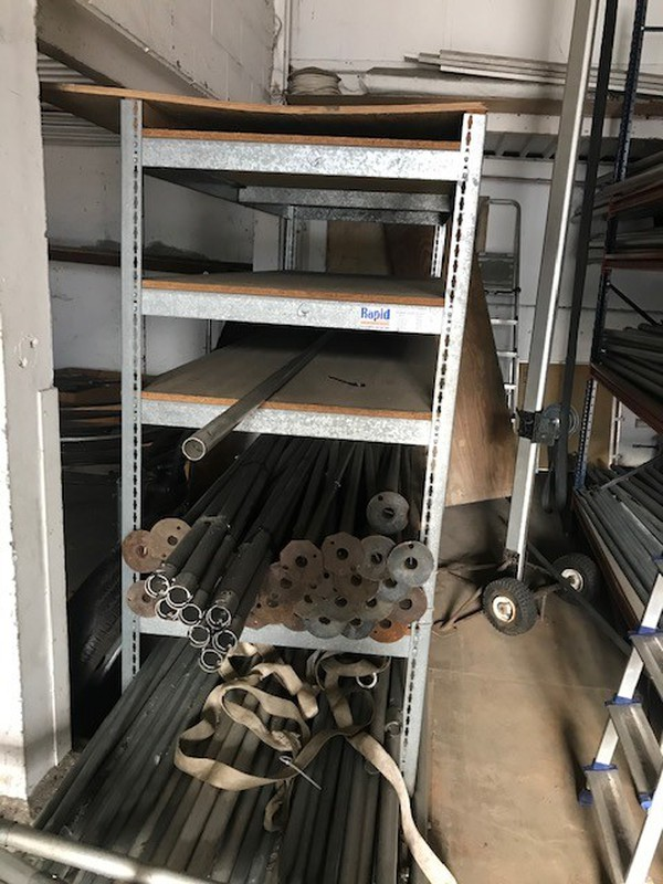 Marquee storage racking