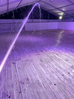 Used Real Ice Rink with Barriers