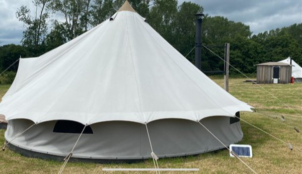 6 meter Boldscan bell tents