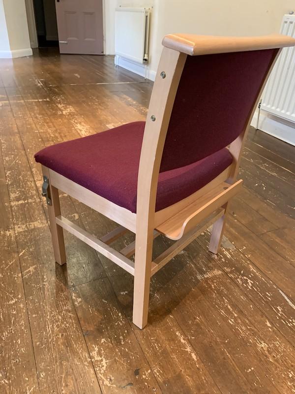 Job Lot 50x Solid Beech Church Chairs