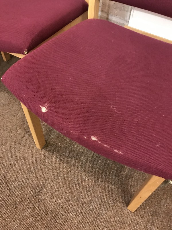 Used Solid Beech Church Chairs