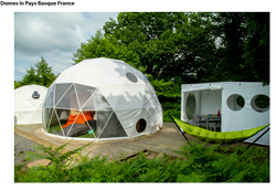 Glamping domes for sale