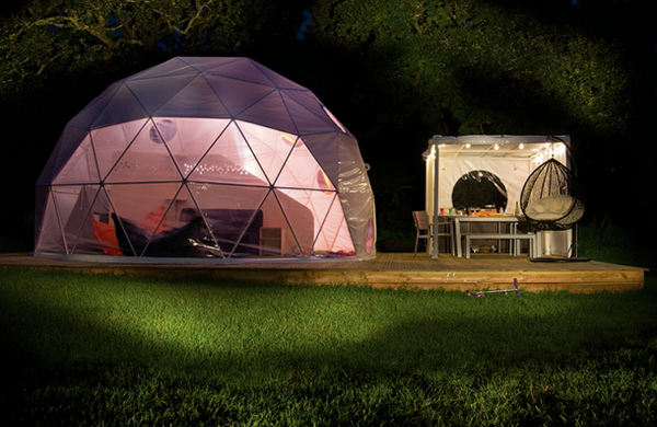 Geodesic Glamping Domes for sale