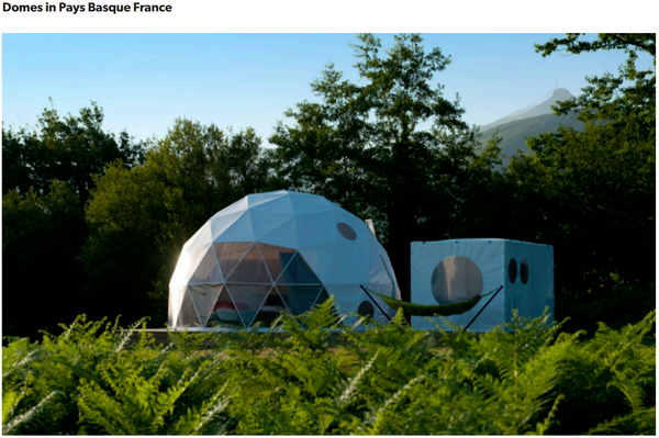 Glamping business for sale south of France