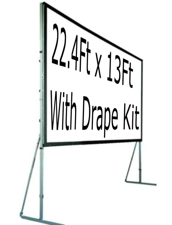 22.4Ft x 13Ft Projection screen for sale