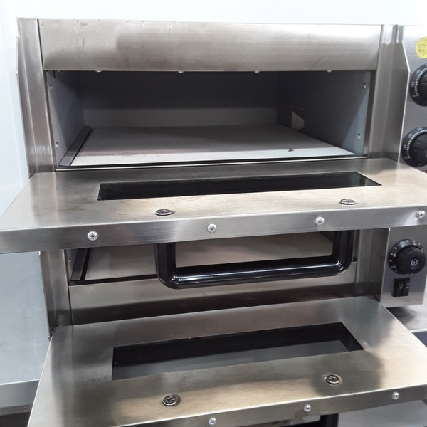 Used Ex Demo Infernus P2PT Double Pizza Oven