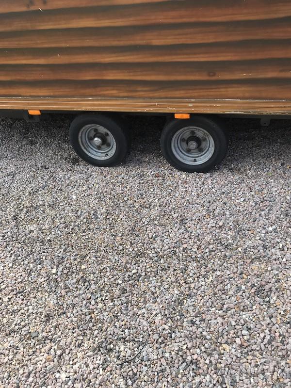 Fridge Trailer wheels
