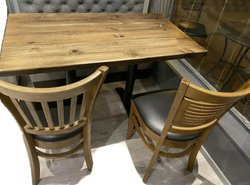 Wooden chairs and tables for sale