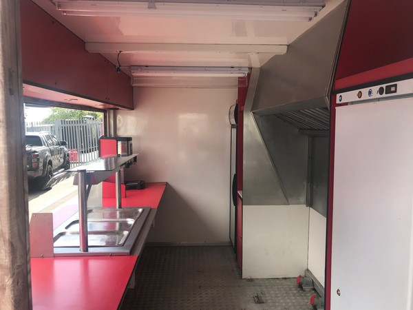 Food kiosk for sale
