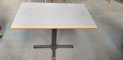 Rectangular laminate tables