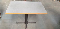 Rectangular laminate tables
