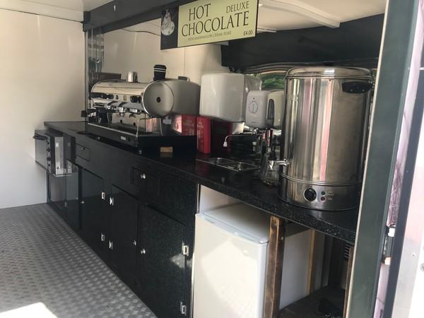 Espresso machine and grinder
