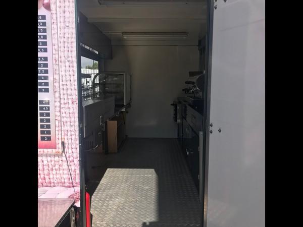 Mobile coffee kiosk