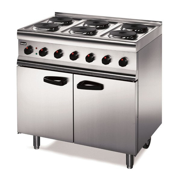Electric range cooker