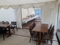 Used 6mx6m Pagoda Marquee