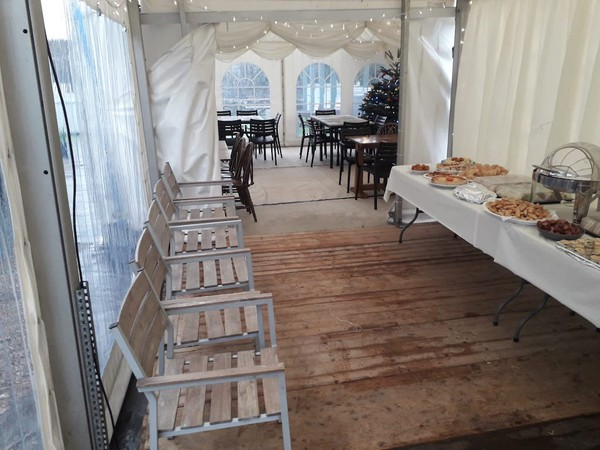 6mx6m Pagoda Marquee for sale
