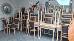 Job Lot Oak Chairs & Tables