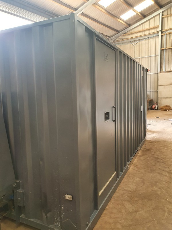 16ft Boss Mobile Towable 7 Man Welfare Unit with Office  for sale