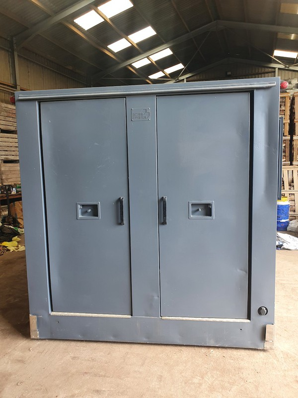 Second Hand 16ft Boss Mobile Towable 7 Man Welfare Unit with Office