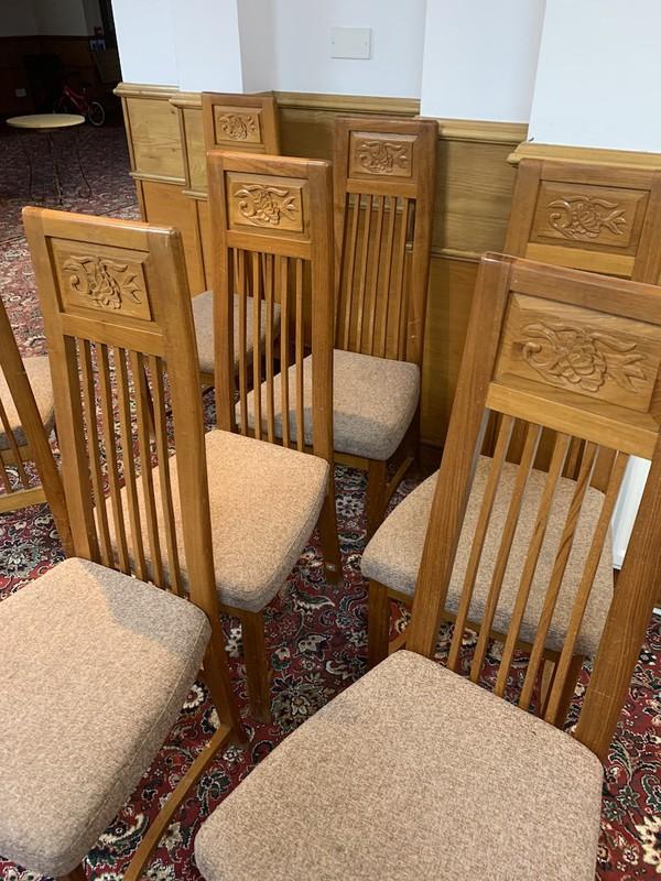 18 Restaurant Chairs