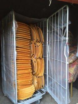 4x Metal Storage Cage