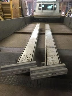 "12m ""A"" Frame  160mm x 100mm profile"