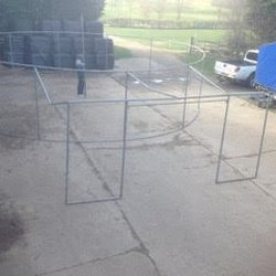 Round marquee frame work for sale