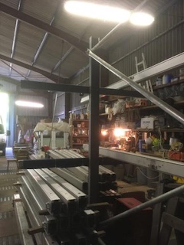 Racks for Storing Marquee Frames