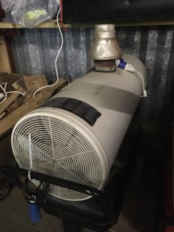 EC 75 Diesel Indirect Heaters